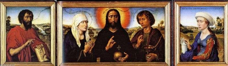 Триптих Шлюбу   Рогир ван дер Вейден