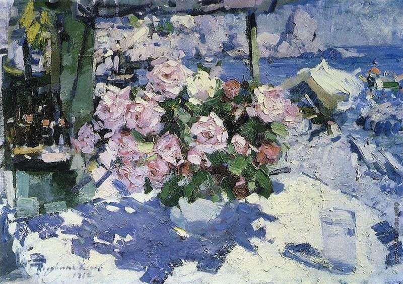 Троянди   Костянтин Коровін