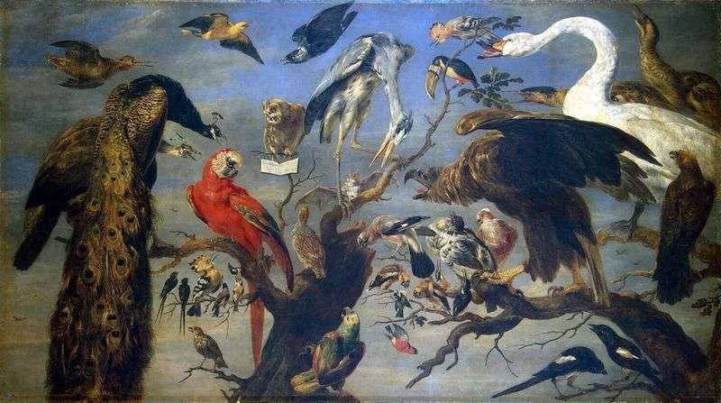 Пташиний концерт   Франс Снейдерс