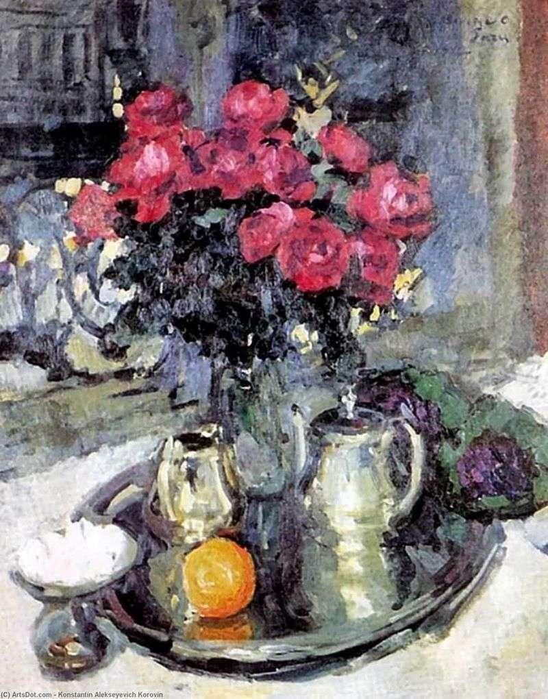 Троянди і фіалки   Костянтин Коровін