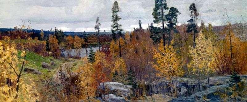 Золота осінь в Карелії   Василь Мішків