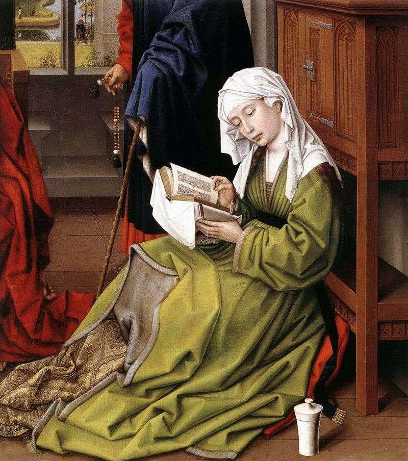 Читаюча Марія Магдалина   Рогир ван дер Вейден