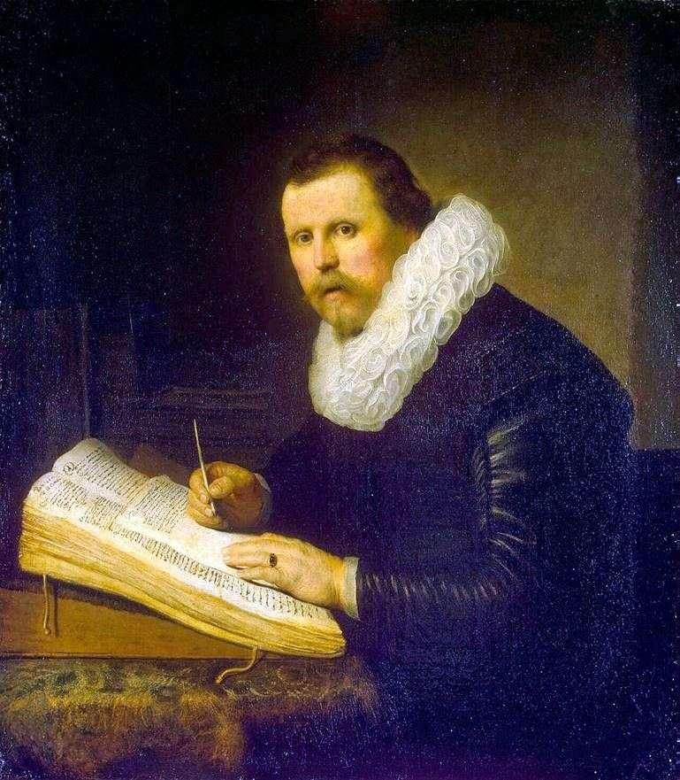 Портрет вченого   Рембрандт Харменс Ван Рейн