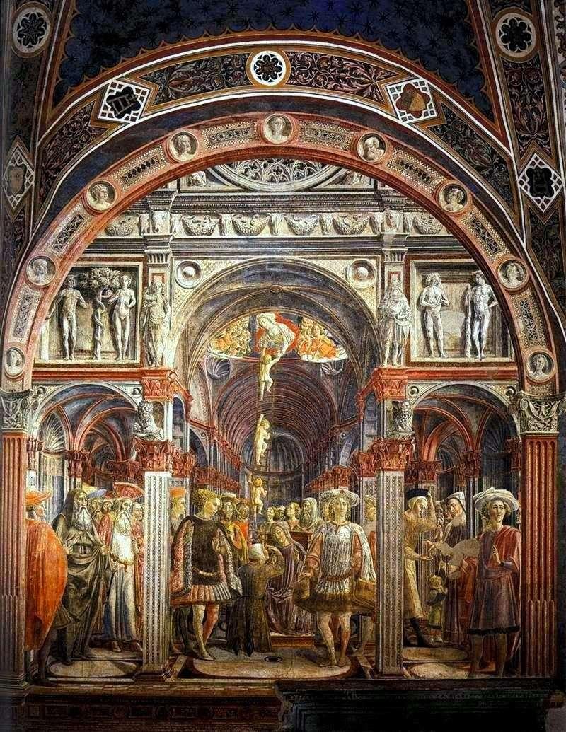Бачення святої Сороре   Веккьетта (Лоренцо ді Пєтро)