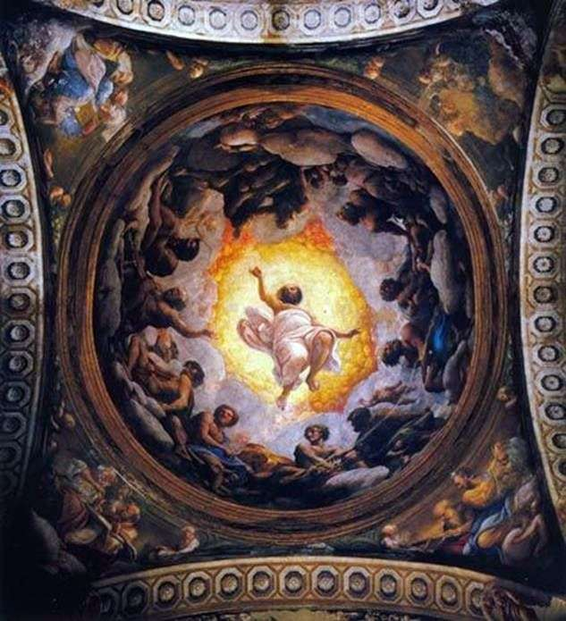 Бачення Іоанна Богослова на Патмосі   Корреджо (Антоніо Алегрі)
