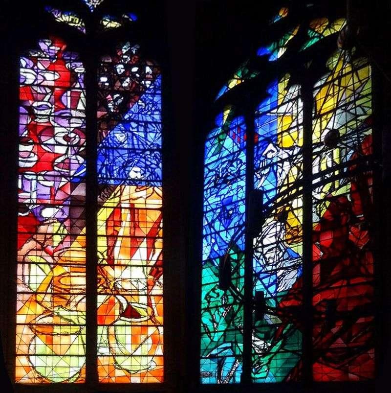 Вітражі собору Святого Стефана у Меці   Марк Шагал
