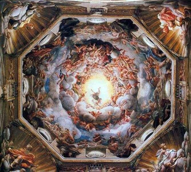 Вознесіння Богоматері   Корреджо (Антоніо Алегрі)