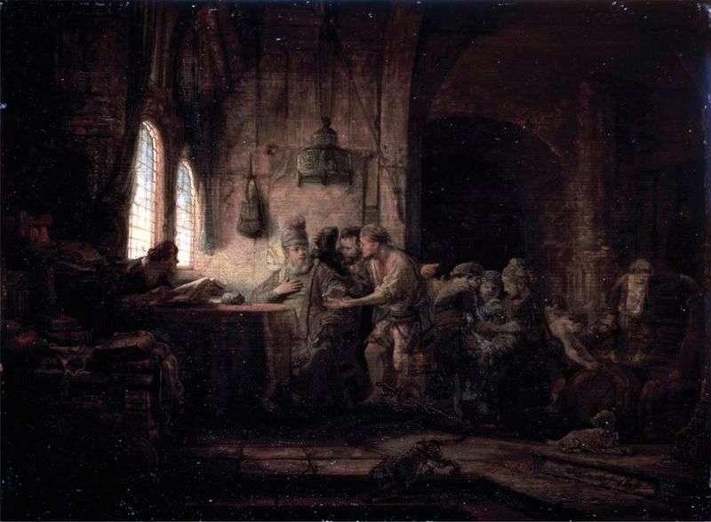 Притча про робітників на винограднику   Рембрандт Харменс Ван Рейн