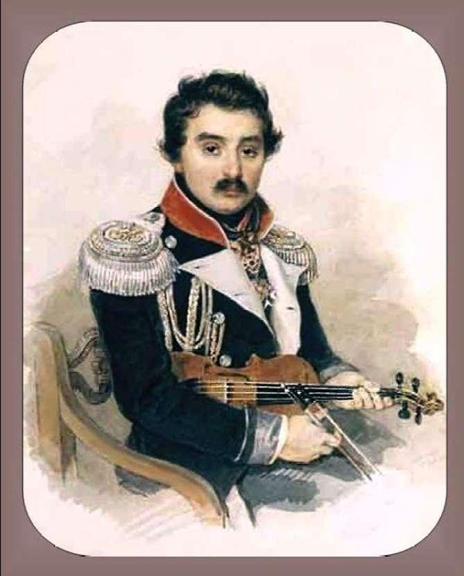 Портрет А. Ф. Львова   Петро Соколов
