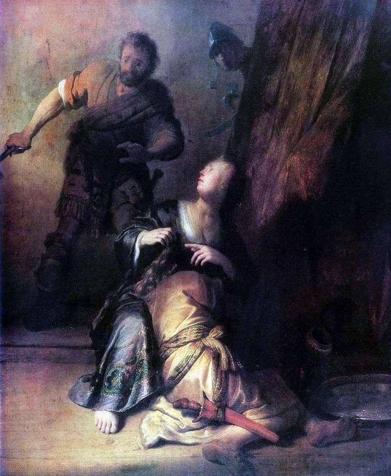 Самсон і Даліла   Рембрандт Харменс Ван Рейн