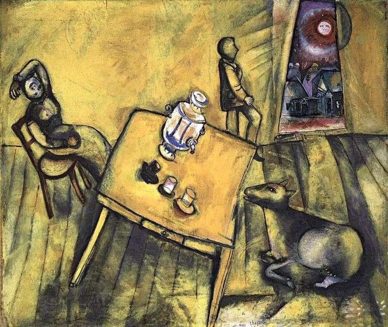 Жовта кімната   Марк Шагал