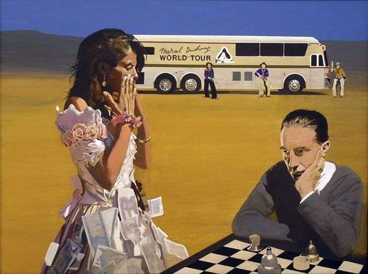 Гра в шахи з Трейсі   Пітер Блейк