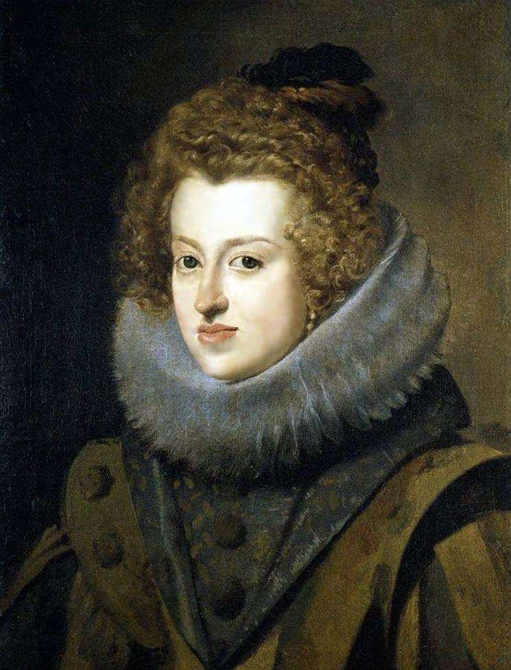 Інфанта Марія Анна, королева Угорська   Дієго Веласкес