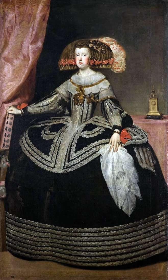 Королева Марія Анна Австрійська   Дієго Веласкес