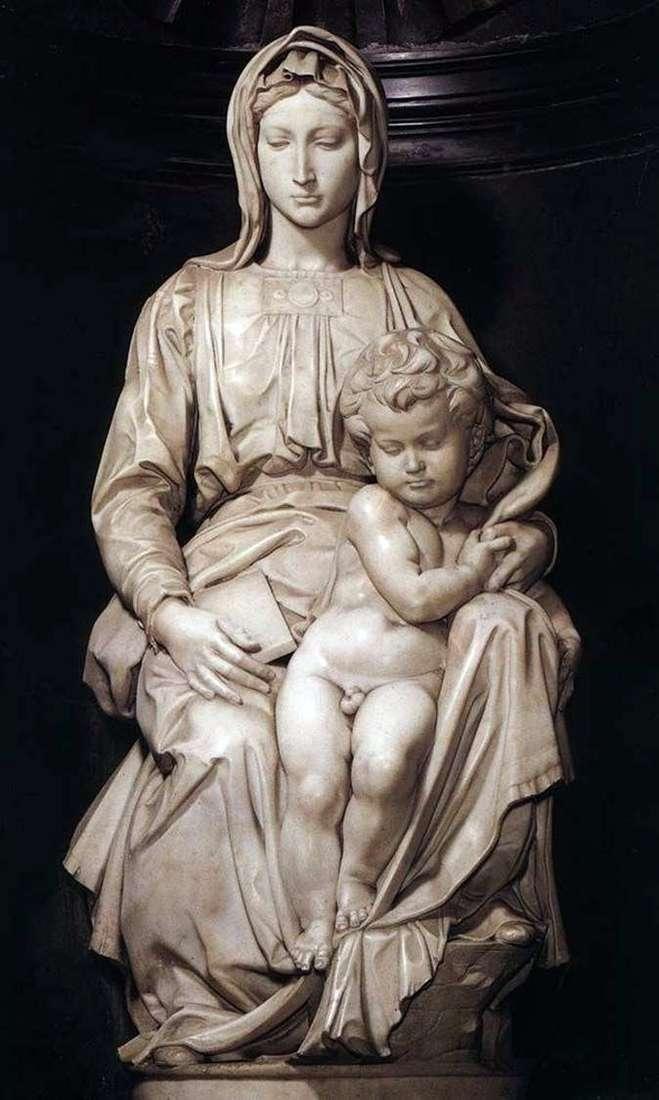 Мадонна з немовлям (скульптура)   Мікеланджело Буонарроті