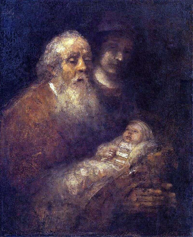 Симеон у храмі   Рембрандт Харменс Ван Рейн