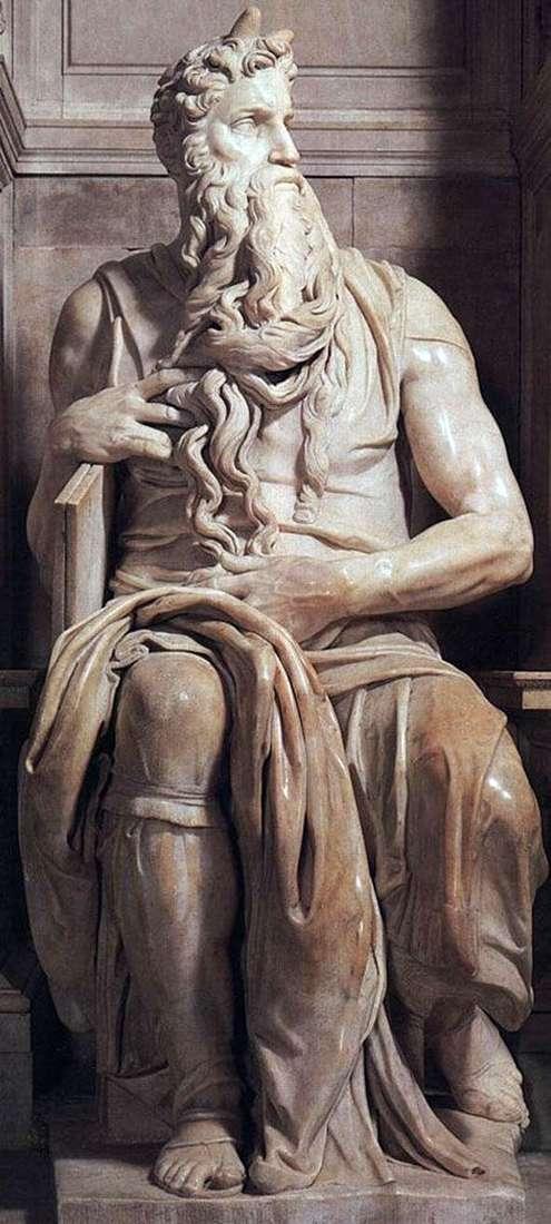 Мойсей (скульптура)   Мікеланджело Буонарроті