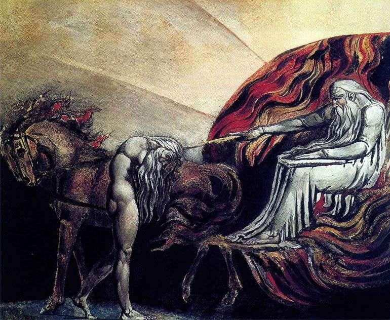 Адам перед судом бога   Вільям Блейк