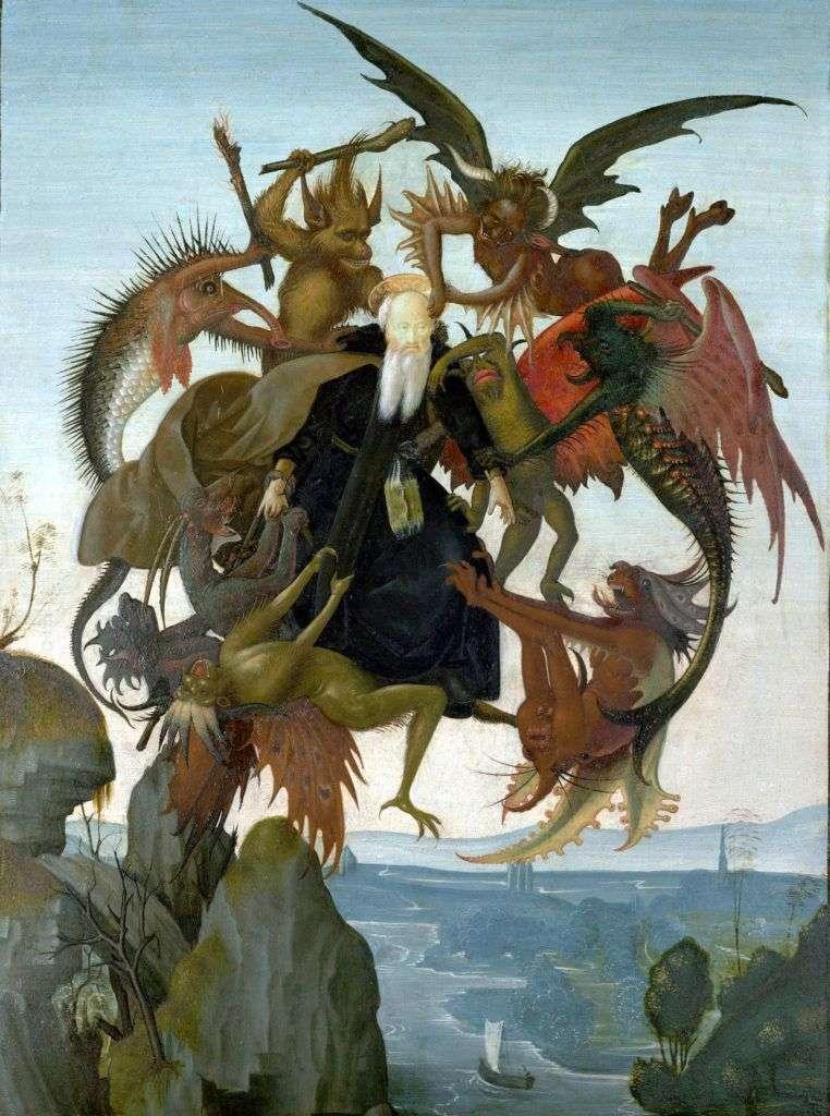 Муки святого Антонія   Мікеланджело