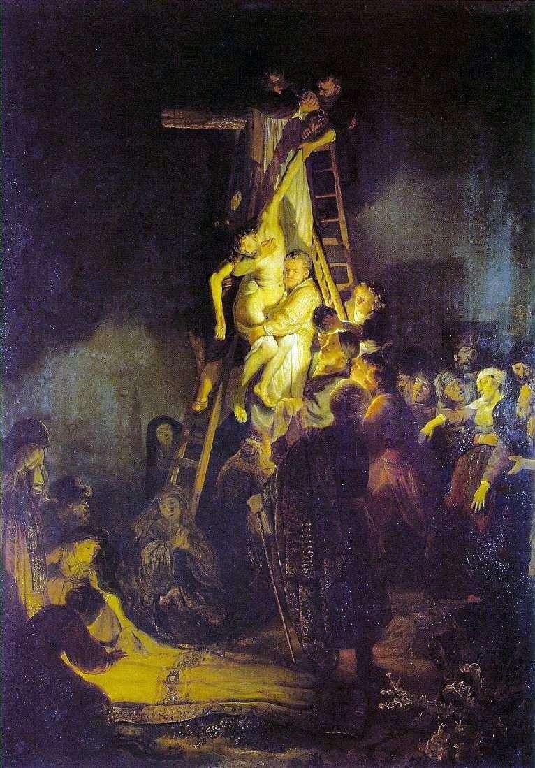 Зняття з хреста   Рембрандт Харменс Ван Рейн