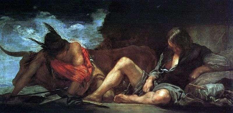 Меркурій і Аргус   Дієго Веласкес