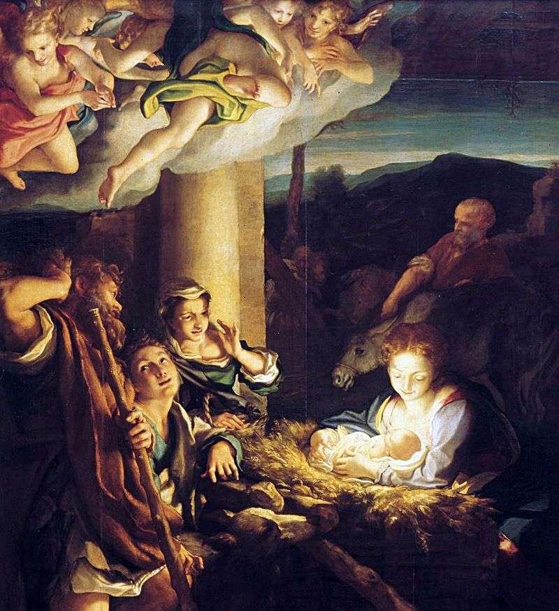 Різдво Христове (Ніч)   Корреджо (Антоніо Алегрі)