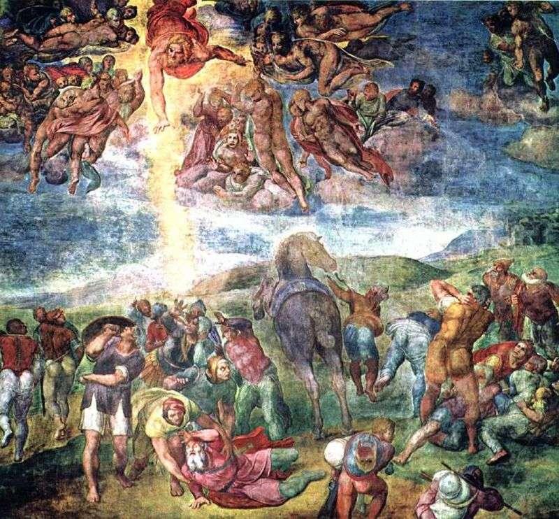 Звернення апостола Павла   Мікеланджело Буонарроті