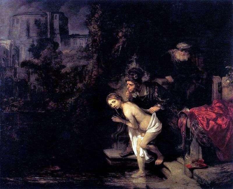 Сусанна і старці   Рембрандт Харменс Ван Рейн