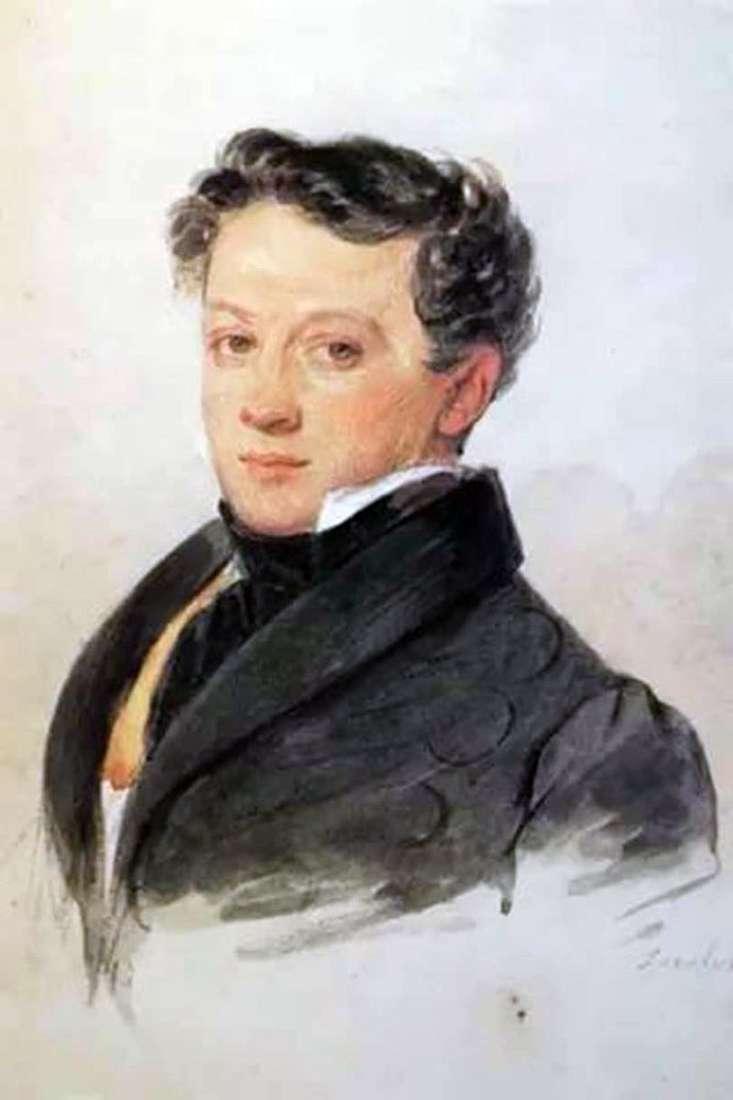 Портрет С. В. Тургенєва   Петро Соколов