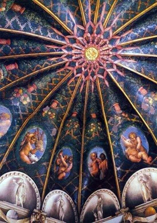 Розписи монастиря Сан Паоло в Пармі   Корреджо (Антоніо Алегрі)