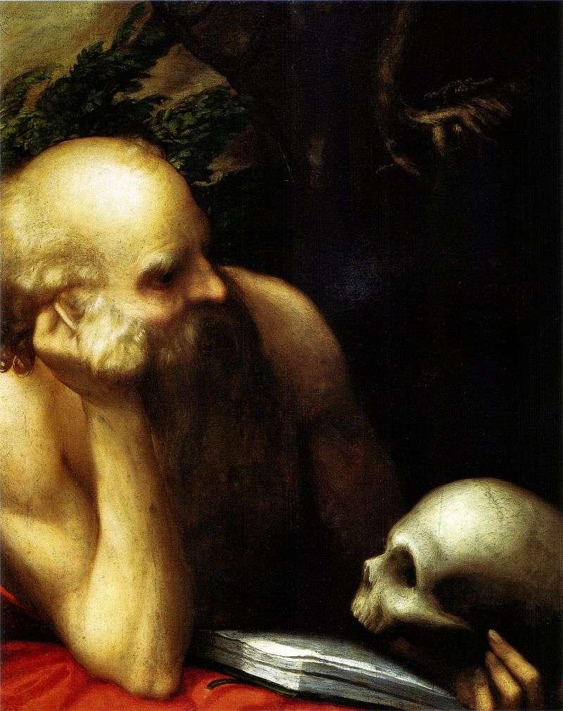 Святий Ієронім   Корреджо (Антоніо Алегрі)
