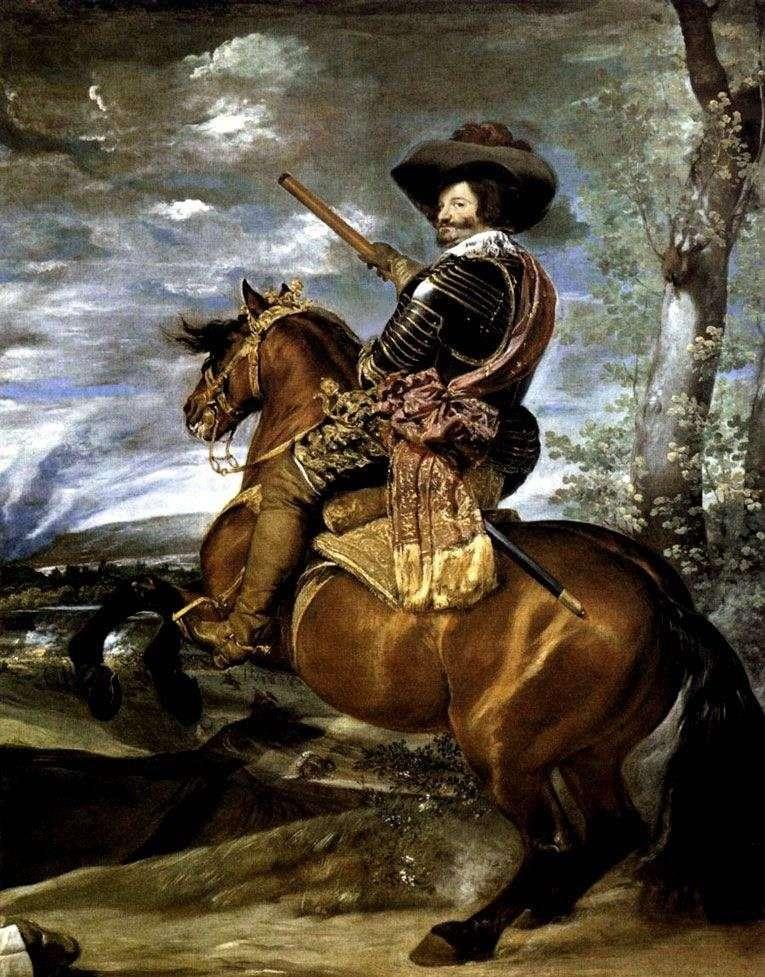 Портрет графа герцога Олівареса   Дієго Веласкес