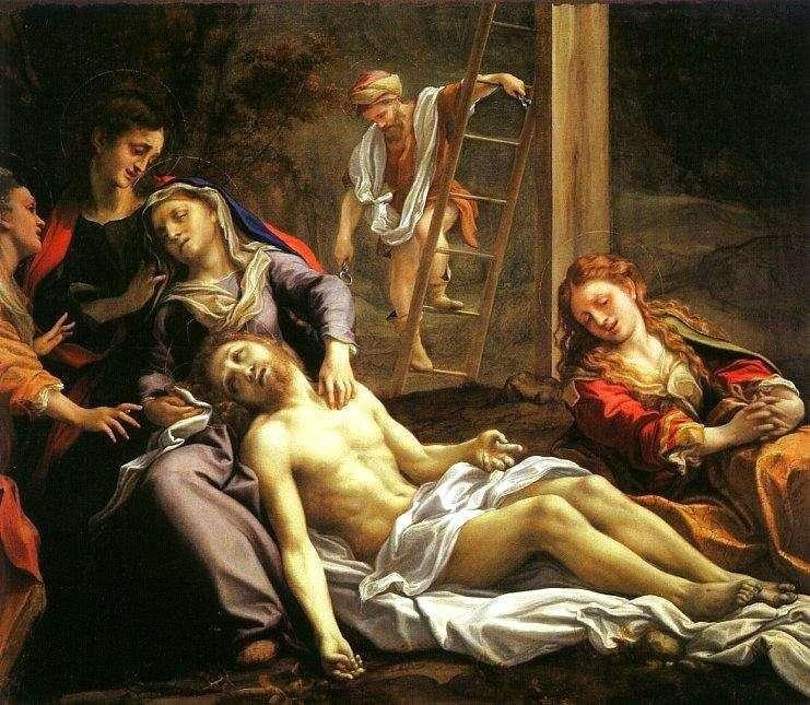 Зняття з хреста   Корреджо (Антоніо Алегрі)