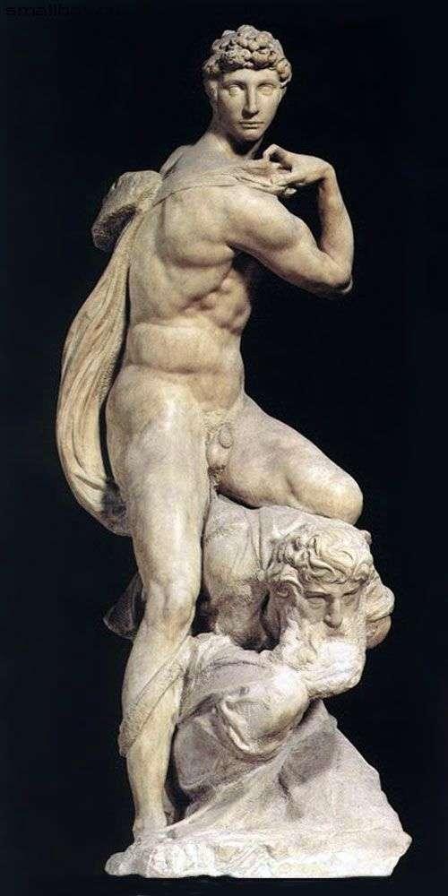 Перемога (скульптура)   Мікеланджело Буонарроті