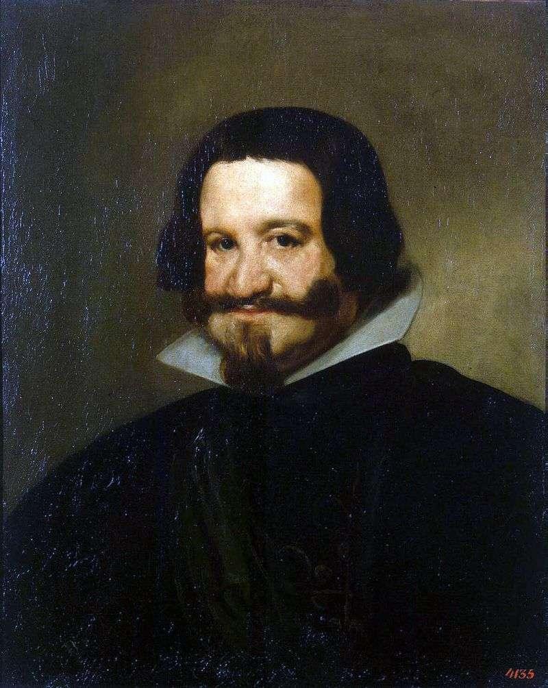 Портрет графа герцога Олівареса   Дієго де Сільва Веласкес