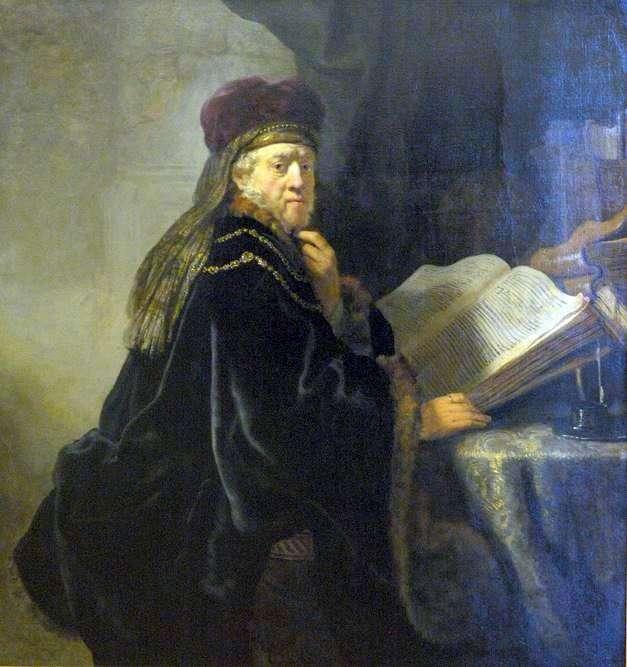 Вчений у кабінеті (Рабин)   Рембрандт Харменс Ван Рейн