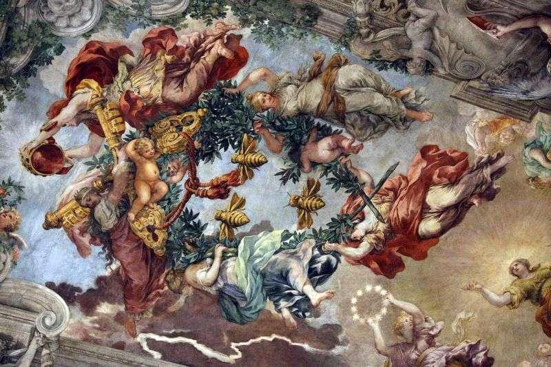 Тріумф Божественного провидіння   Пєтро да Кортона