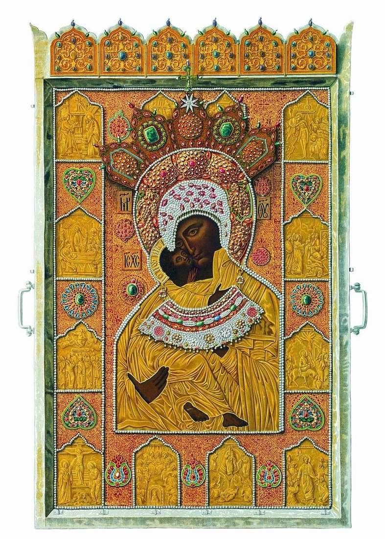 Чудотворний образ Володимирської Божої Матері   Федір Солнцев