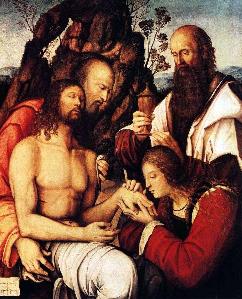 Оплакування Христа   Джироламо Маркези так Котиньола
