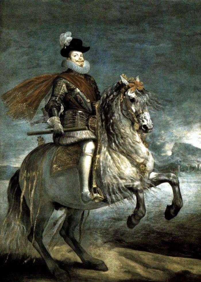 Портрет короля Філіпа III   Дієго Веласкес