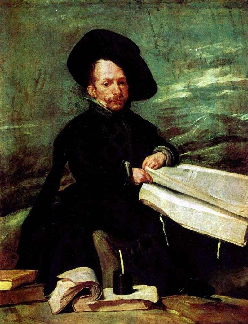 Портрет придворного блазня Ель Прімо   Дієго Веласкес