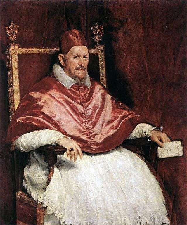 Портрет римського Папи Інокентія Х   Дієго Веласкес
