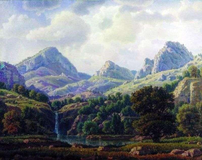 Гірський пейзаж   Костянтин Богаєвський