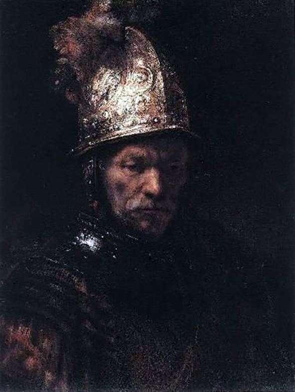 Чоловік у золотому шоломі   Рембрандт Харменс Ван Рейн