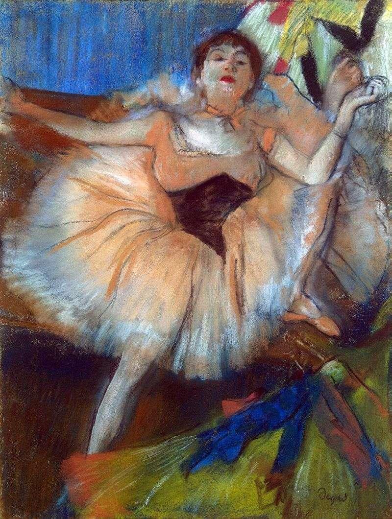 Сидить танцівниця   Едгар Дега