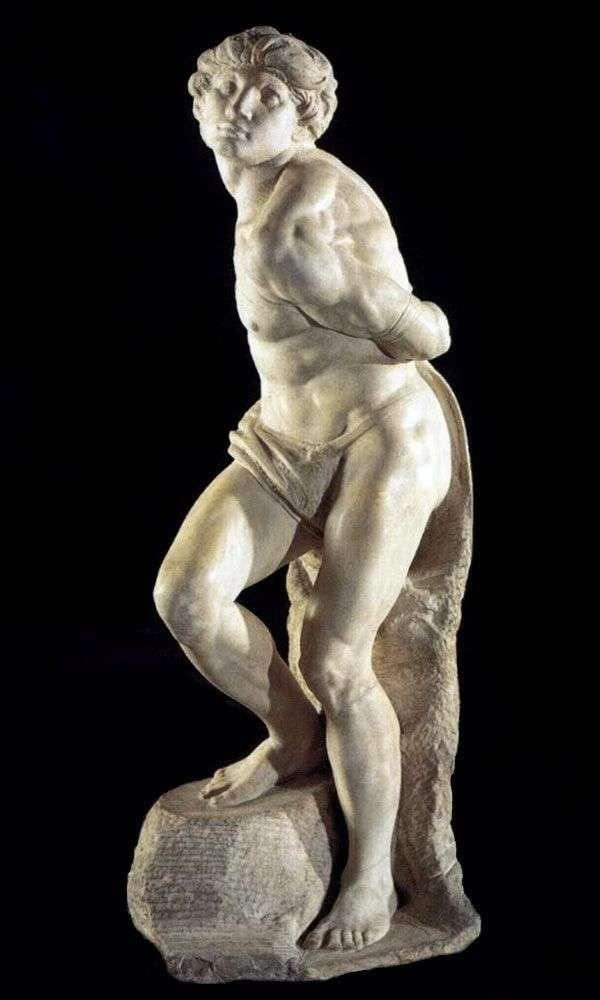 Скутий раб (скульптура)   Мікеланджело Буонарроті