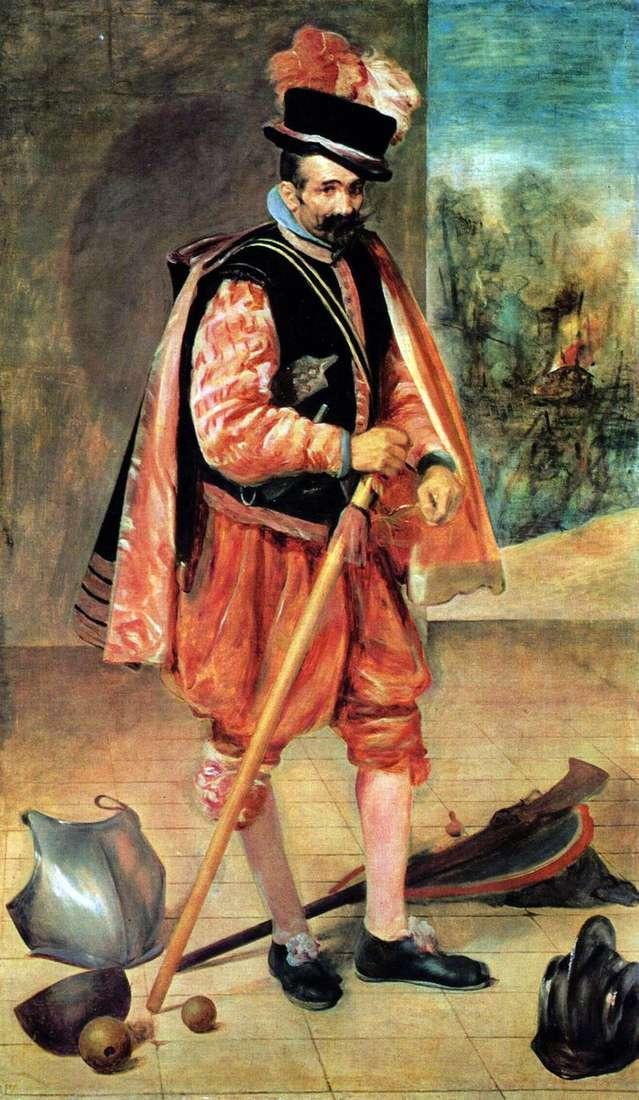 Придворний блазень Хуан Австрійський   Дієго Веласкес