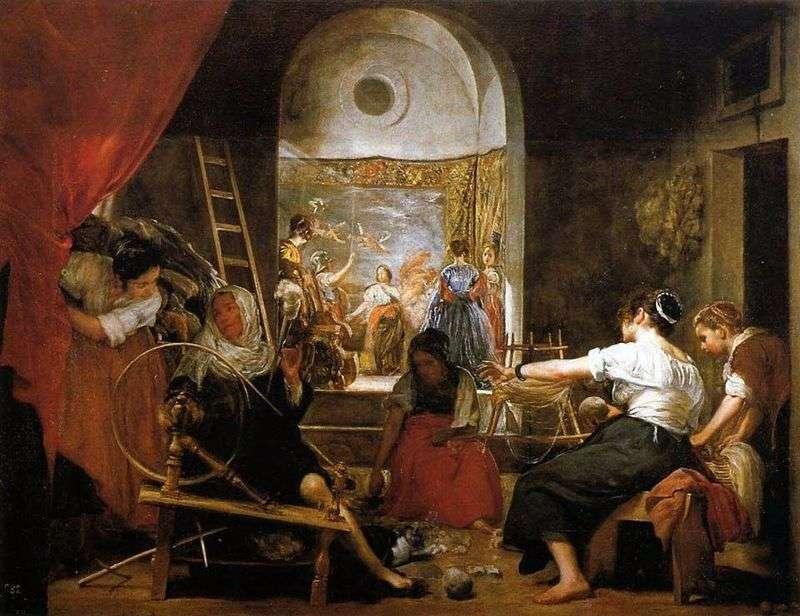 Прялі (Історія Арахни)   Дієго Веласкес