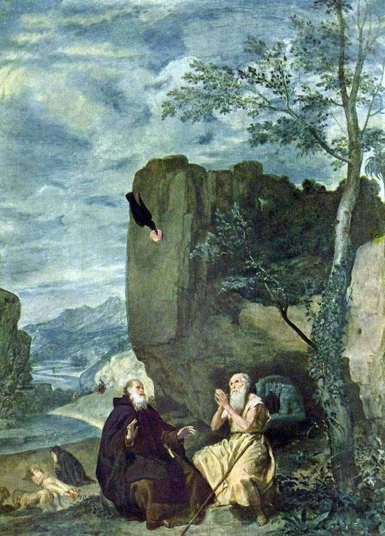 Святі Антоній і Павло   Дієго Веласкес