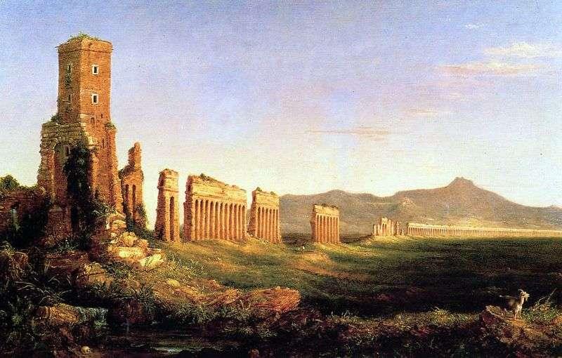 Акведук біля Риму   Томас Коул